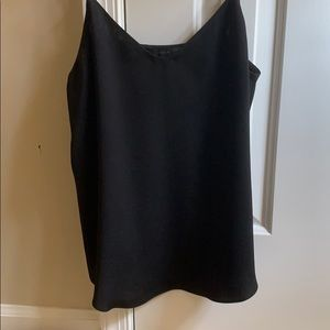 Jcrew silk black camisole